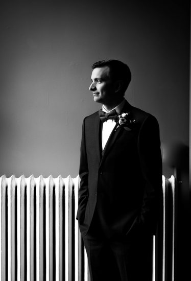 Groom Portrait: The Covenant at Murray Mansion