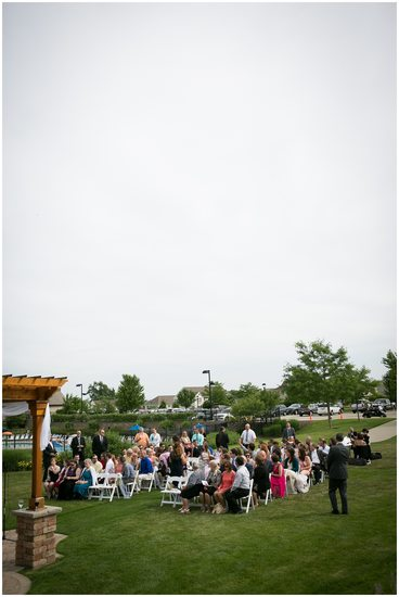 Outdoor Ceremony: Strawberry Creek Kenosha