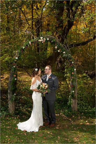 The Arch: Weddings at Hawthorn Hollow