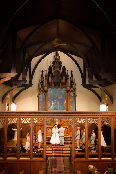 Wood Chapel: Kemper Center Ceremony