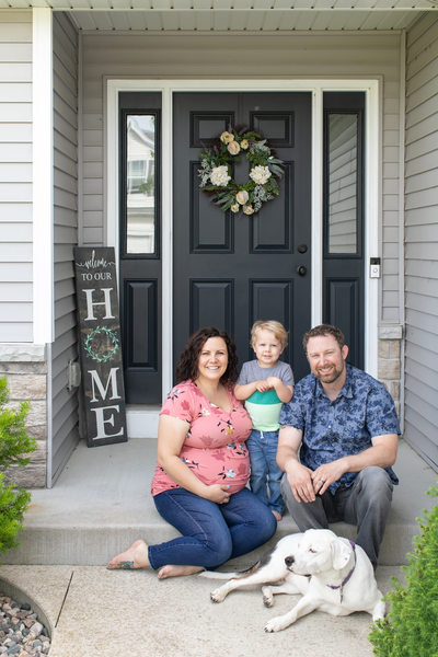 Family at Home: Family Photos in Kenosha
