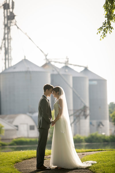 Veterans Terrace Wedding: Golden Hour