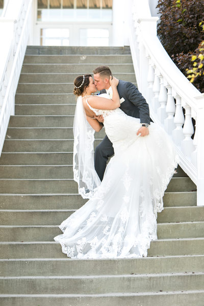 Blue Harbor Resort Wedding: Dip the Bride