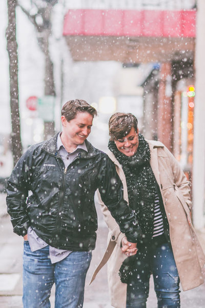 LGBTQ+ Friendly Engagement Photographer