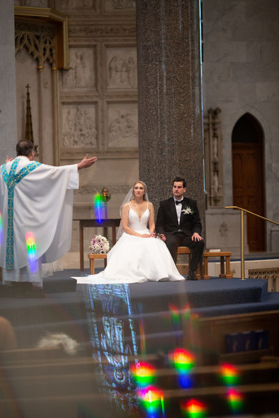Church of the Gesu: Milwaukee Wedding