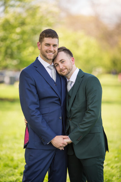 LGBTQ Friendly Wedding Photography: Two Grooms