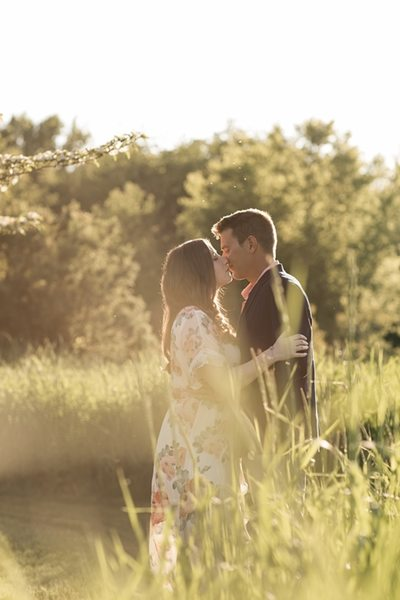 Golden Hour: Engagement Photographer Kenosha