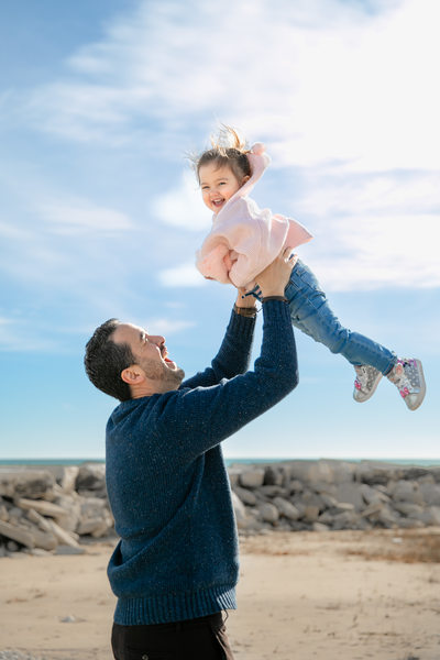 Daddy Daughter: Beach Photos