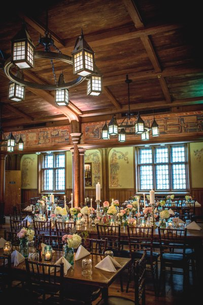 Historic Pabst Brewery Wedding: Head Table