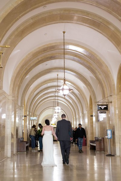 Milwaukee Courthouse Wedding: The Couple