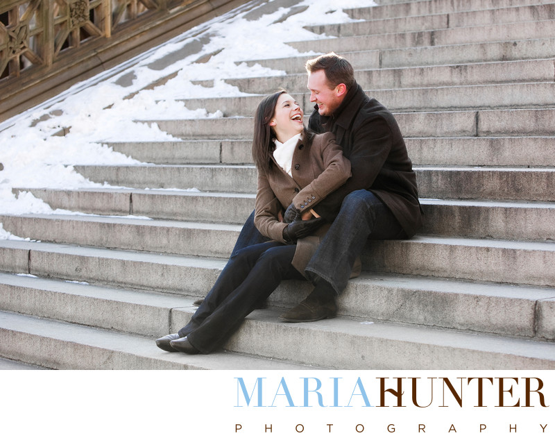 Central Park Engagement Photo Locations