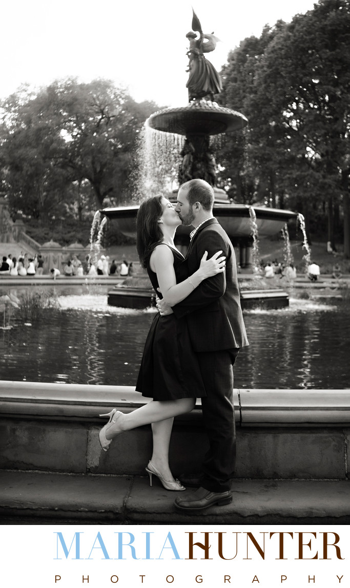 Engagement Photos in Central Park