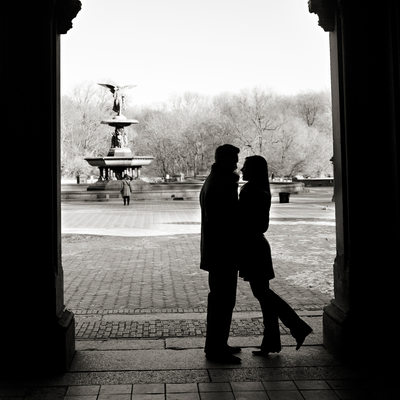 Central Park Engagement Photographer