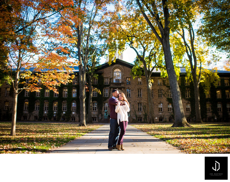 Princeton University Engagement Pictures