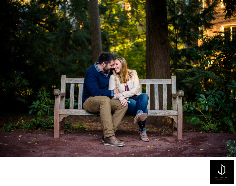Princeton University Engagement Photo