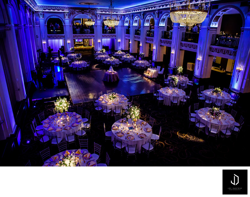 Ballroom at the Ben Philadelphia Wedding
