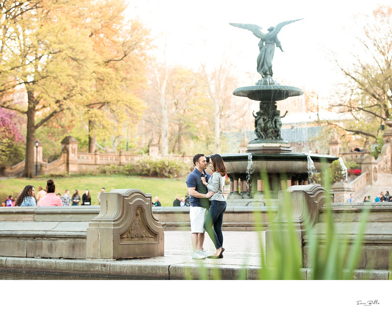 Central Park Bethesda Terrace Wedding Photos