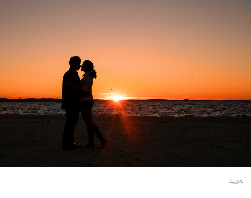 Fire Island Engagement Photo