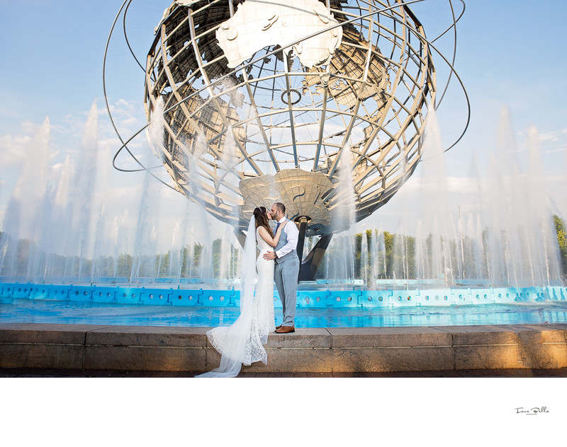 Flushing Meadows Park Wedding Photos