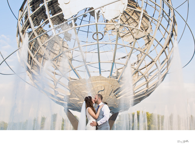 Worlds Fair Wedding Photo
