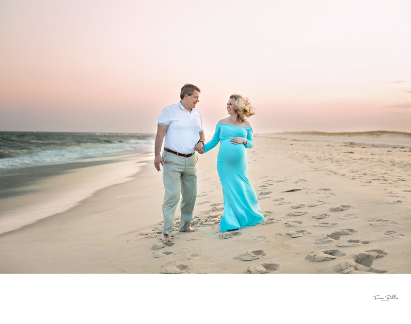 Best Sunset Maternity Photos in Long Island