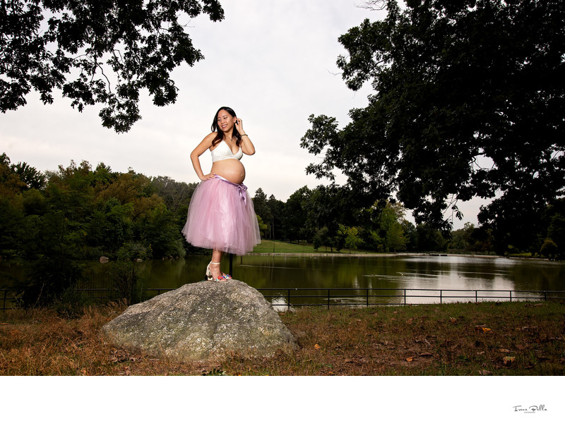 Kissena Park Maternity Photographer