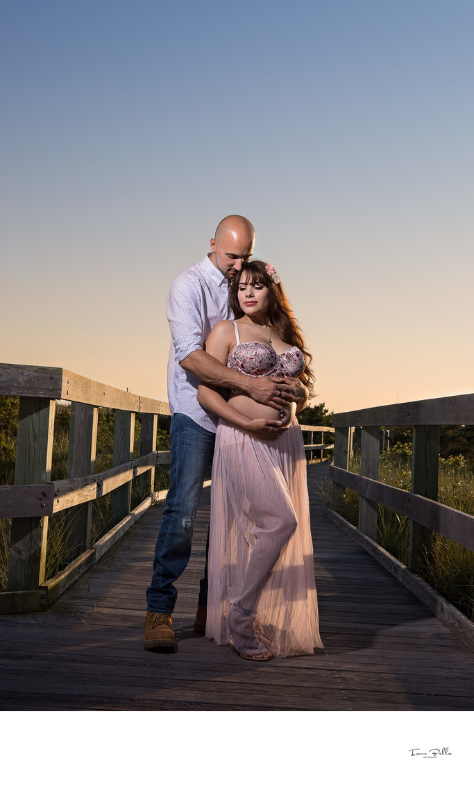 Fire Island Maternity Photographer