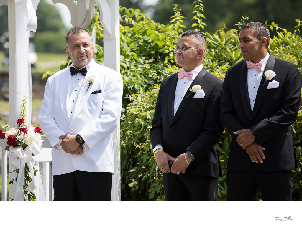 Bartow Pell Mansion Wedding Ceremony
