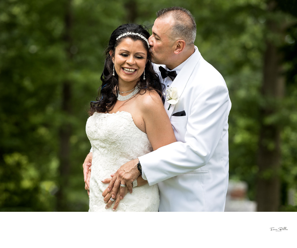 Bartow Pell Mansion Wedding Photo