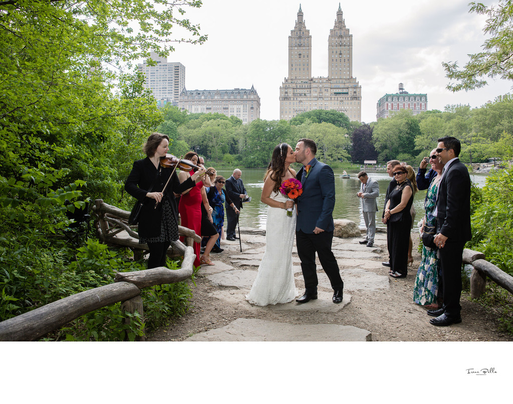 Best Central Park Elopement Photographer