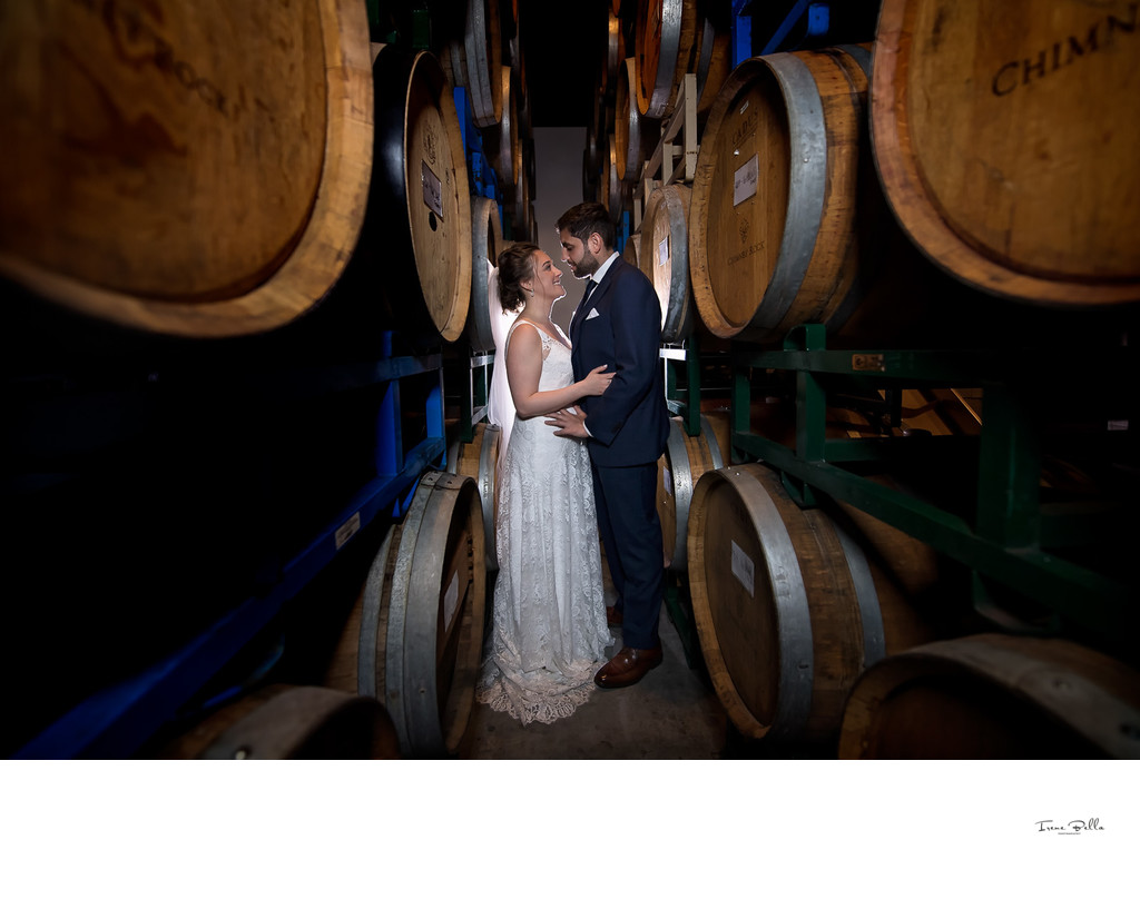 Best Brooklyn Winery Wedding Photographer
