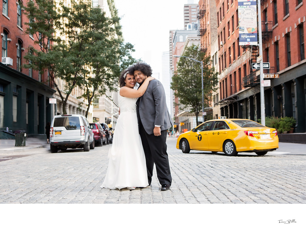 Downtown Manhattan Wedding Photos