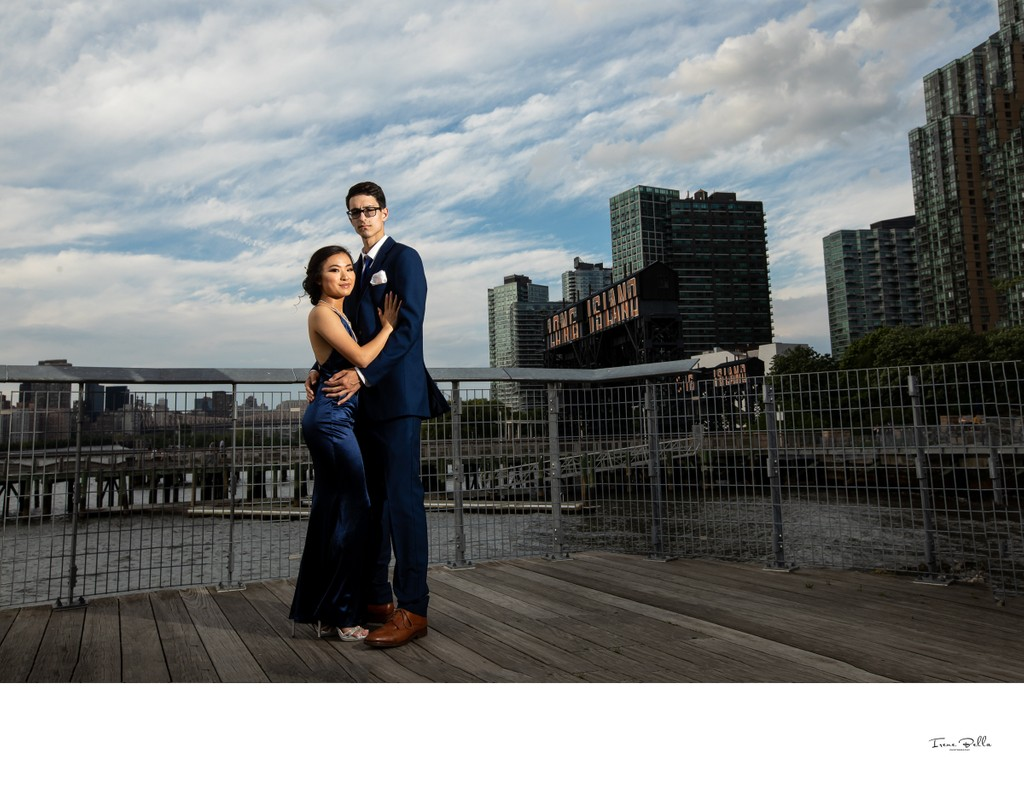 Best Long Island City Piers Prom Photographer
