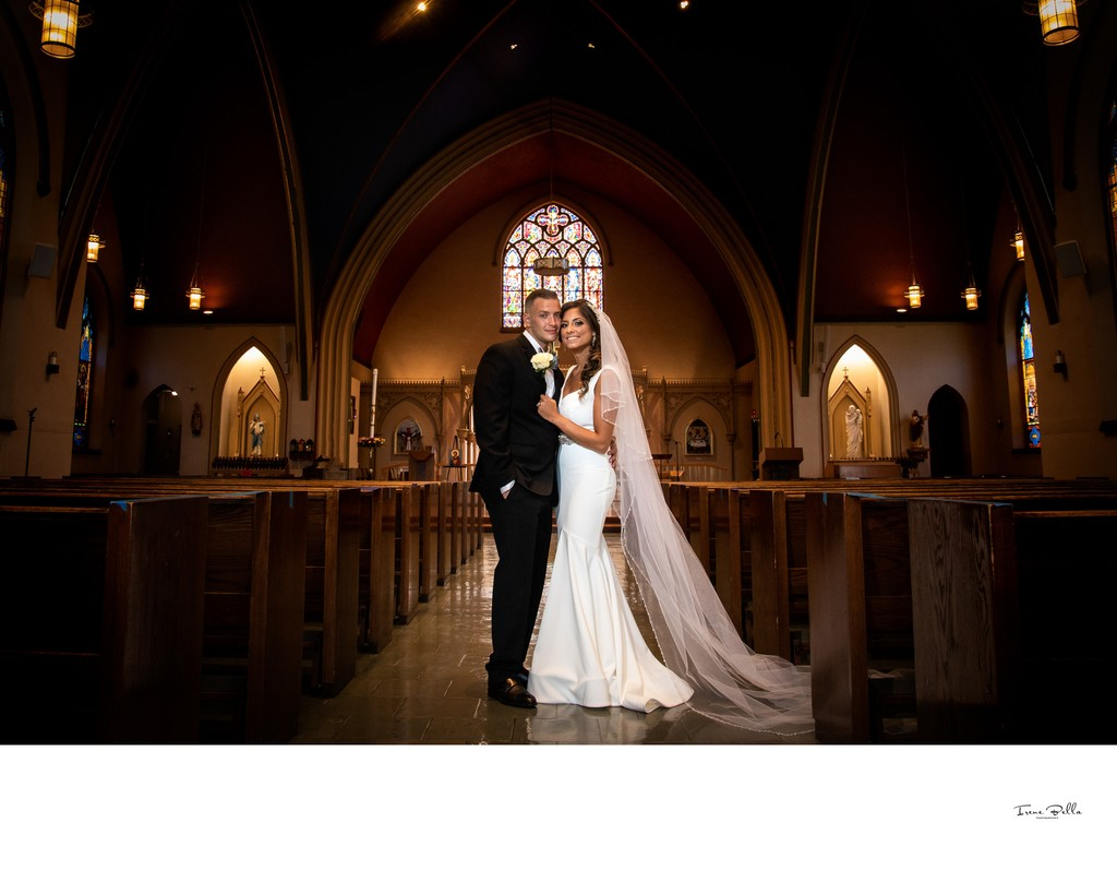 St Lukes Roman Catholic Church Wedding Photo