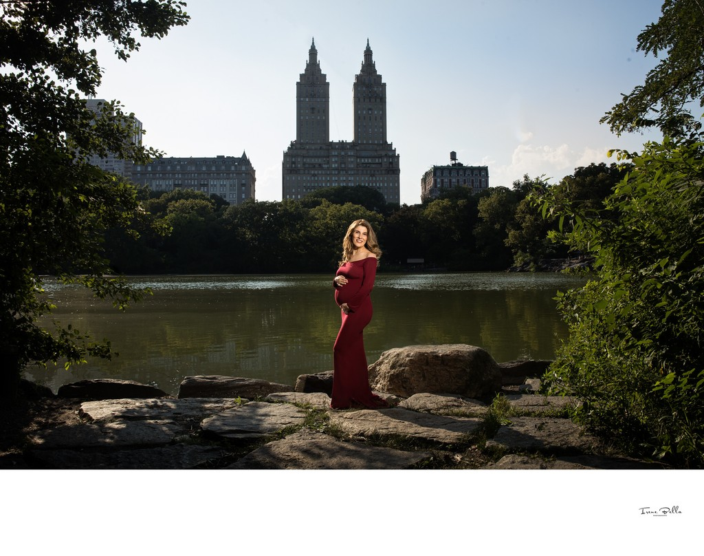 Best Central Park Maternity Photo