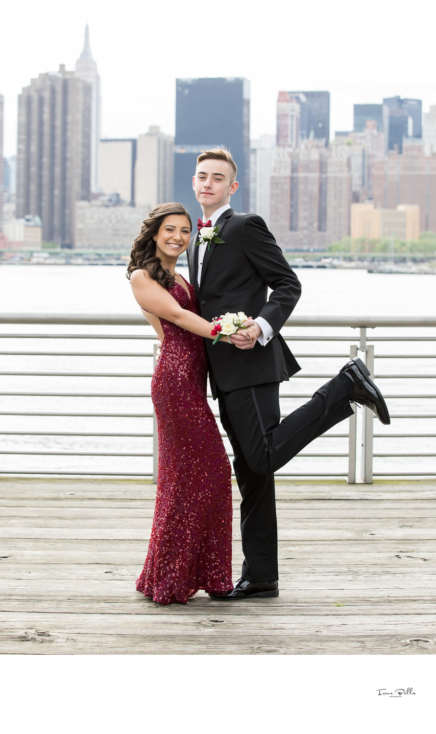 Long Island City Piers Prom Photographer