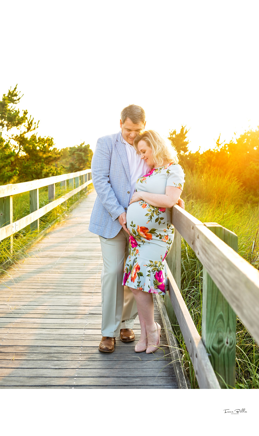Robert Moses Maternity Photo Session