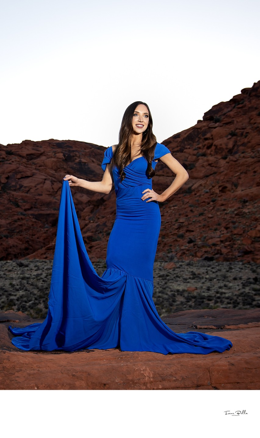 Best Red Rock Glamour Photographer