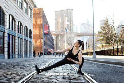 Dumbo, NYC Yoga Photographer