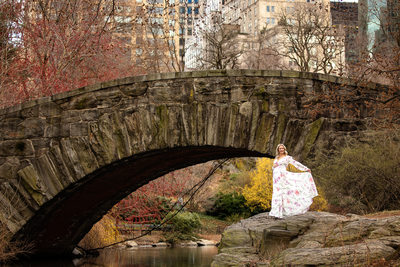 Gapstow Bridge NYC Maternity Photo
