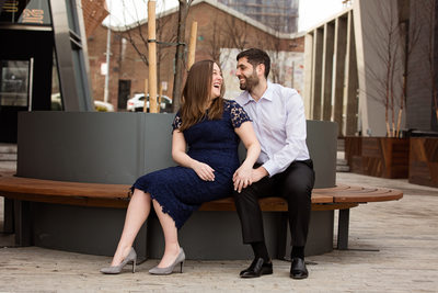 Engagement Photos at the William Vale Hotel NYC