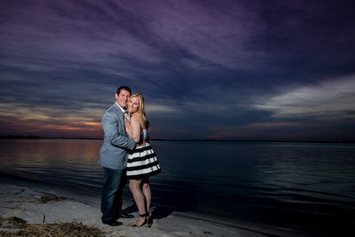 Long Beach Engagement Photo