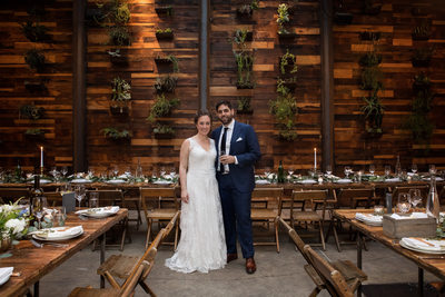 Wedding Photo at the Brooklyn Winery