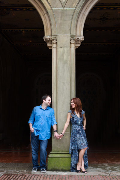 Bethesda Terrace Engagement Photos