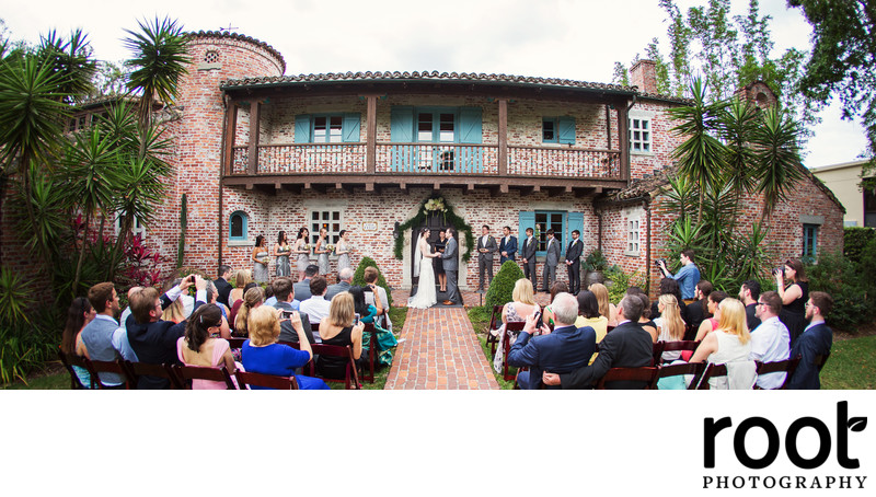 Casa Feliz Wedding Ceremony