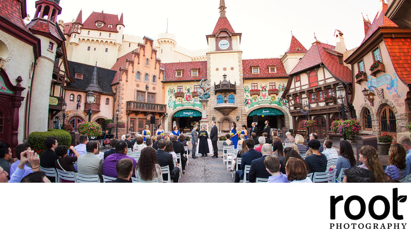 Wedding in Epcot Germany