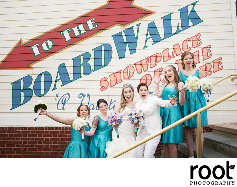 Wedding Party at Disney's Boardwalk Inn