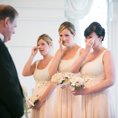 Bridesmaids at Disney's Wedding Pavilion