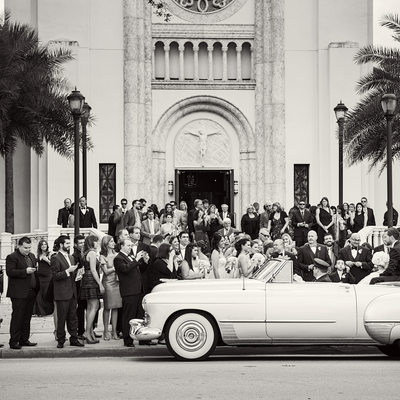 Wedding at St. James Cathedral in Downtown Orlando
