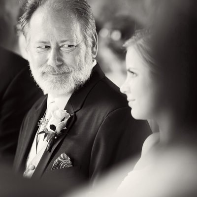Father of the Bride at Bella Collina Wedding